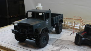 I wish there was a US supplier for the truck. I will be looking for a half-track truck. They seem pr